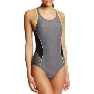 Speedo One-Piece Racerback Swimsuit